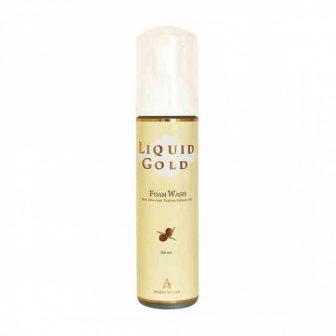 קצף ניקוי לפנים –  Liquid Gold Foam Wash – סדרת הזהב