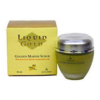 פילינג זהוב – Liquid Gold Golden Marine Scrub – סדרת הזהב