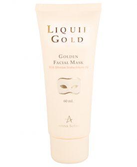 מסכת זהב לפנים – Liquid Gold Golden Facial Mask – סדרת הזהב