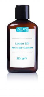 לושן EX LOTION לטיפול בכף הרגל – כף הרגל והציפורן