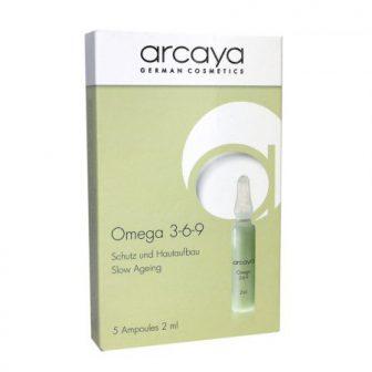 אמפולות לייצוב והגנה על העור Omega 3-6-9