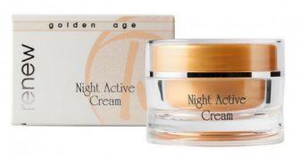 קרם לילה פעיל לשיקום ומתיחה –  Night Active Cream – סדרת גולדן אייג'