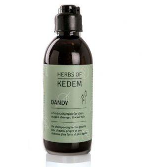 דנדי – שמפו צמחי לשיער ולקרקפת – סדרת טיפול וטיפוח השיער והקרקפת