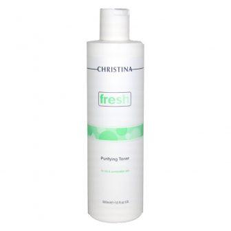 מי פנים לעור שמן ומעורב  – Purifying Toner for oily skin – סדרת פראש