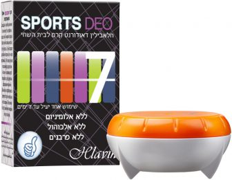 ספורט – קרם דאודורנט לבית השחי – סדרת חלאבילין