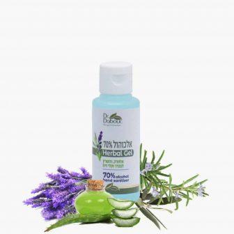 אלכוהול ג'ל 70%  – Herbal gel – סדרת היגיינה