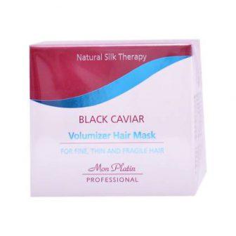מסכה לשיער דק ושביר – Black Caviar Volumizer