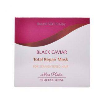 מסכה לשיער Black caviar total repair