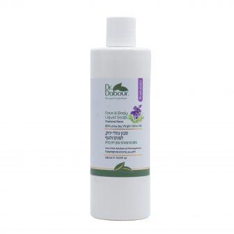 סבון נוזלי ירוק – לבנדר – סדרת טיפוח פנים
