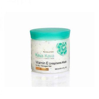מסכת הזנה מועשרת בכדוריות ויטמין E לשיער יבש ופגום