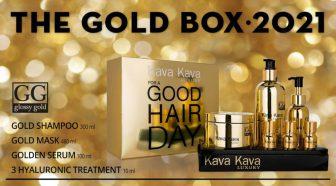 ערכת טיפוח לשיער – GOOD HAIR DAY  – סדרת Glossy Gold