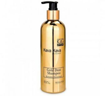שמפו זהב לשיער יבש ללא מלחים